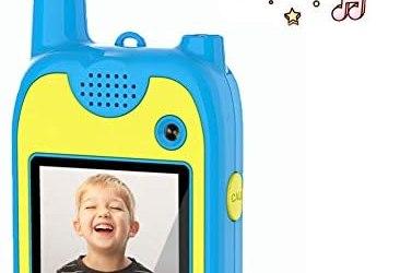 Walkie Talkie Bambini Macchina Fotografica Bambini 1080P Doppia Lente 8…