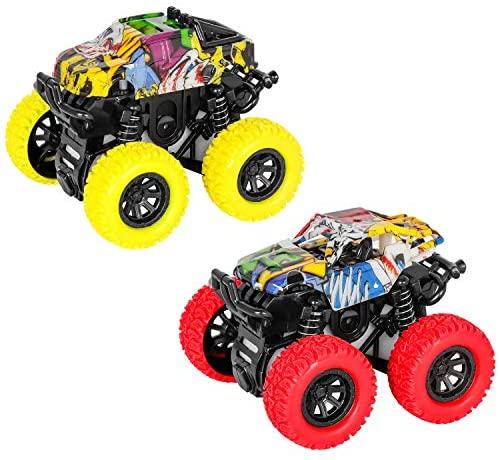 m zimoon Monster Truck, Tirare Indietro i Veicoli Auto di attrito 360 Gradi...