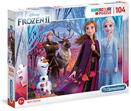 Clementoni-Clementoni-27274-Supercolor Disney Frozen 2-104 Pezzi, Puzzle...