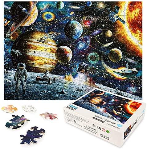 LBLA Puzzle 1000 Pezzi Giocattolo Educativo Puzzle per Adulti Spazio Puzzle...