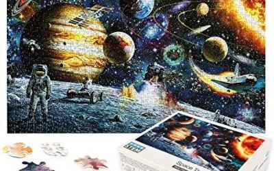 LBLA Puzzle 1000 Pezzi Giocattolo Educativo Puzzle per Adulti Spazio Puzzle…