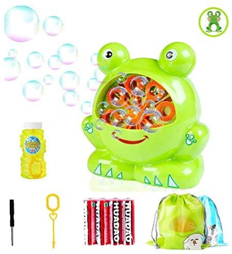 Morkka Bubble Machine Ventilatore Automatico a Bolle duraturo per Bambini...