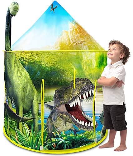 Nice2you Tenda da Gioco con Dinosauri, Tenda da Gioco Pop-up dal Design...