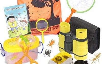 Set di esplorazione all'aperto – Binocolo per Bambini, Torcia Elettrica,…