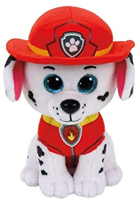 Ty Paw Patrol Marshal Cane Peluches Giocattolo 306, 15 cm, Multicolore,...