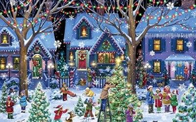 Vermont Christmas Company Acclamazione Natalizia Jigsaw Puzzle 1000 Pezzi