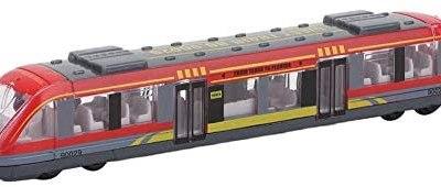 Giocattolo del Treno Simulazione Modello Metropolitana in Lega Scorrevole…