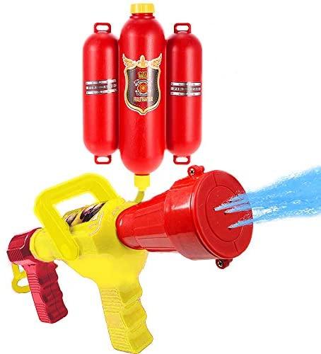 Goolsky Fireman Toys Zaino a spruzzo Pistole d'Acqua Toy Blaster Estintore...