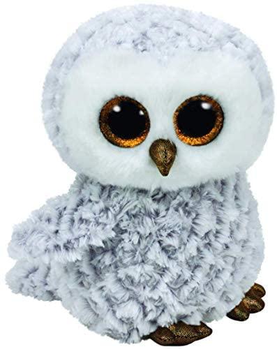 TYTY37086 Beanie Boo's- Peluche di Owlette Il Gufo, 23 cm