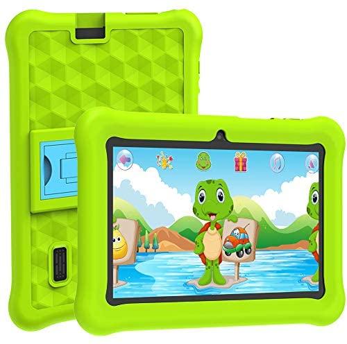 Tablet Bambini WiFi Android 10 per 7 Pollici Certificazione Google con 2GB...