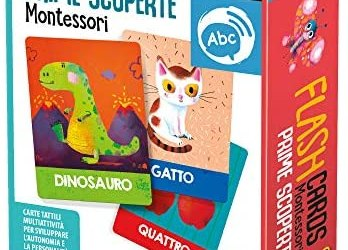 headu- Flashcards Montessori Prime Scoperte Giochi Educativi, IT23097