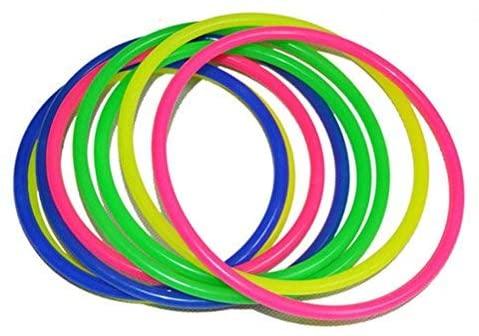 STOBOK - Set di 12 anelli da gioco per bambini, in plastica, per la...