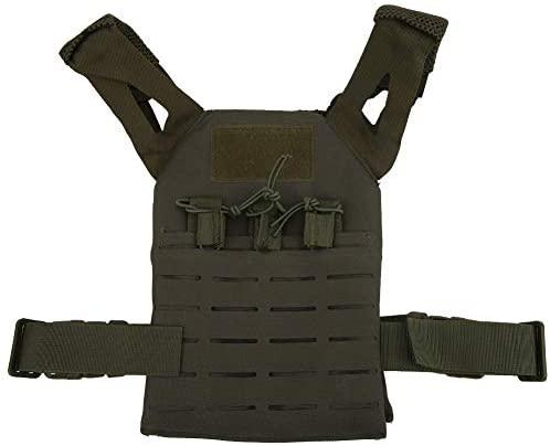Alomejor1 Kid Combat Vest Gioco di Caccia all'aperto Multifunzionale Molle...