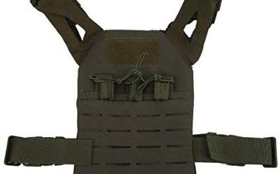 Alomejor1 Kid Combat Vest Gioco di Caccia all'aperto Multifunzionale Molle…