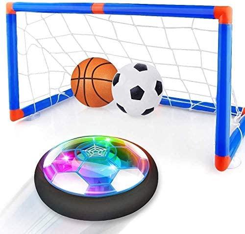 Baztoy Air Power - Set porta da calcio per bambini, ricaricabile, con...