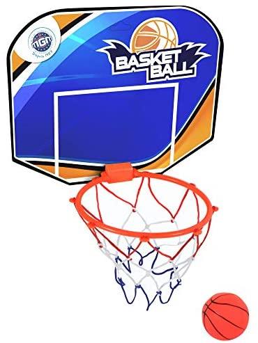 Bluesky 047261-28 cm - Cestino da basket rosso – Gioco all'aperto dai 3...