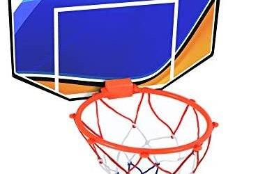 Bluesky 047261-28 cm – Cestino da basket rosso – Gioco all'aperto dai 3…