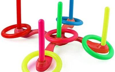 Ring Toss Game, Cerchi circolari in Gettare colorata per bambini, Gioco di…