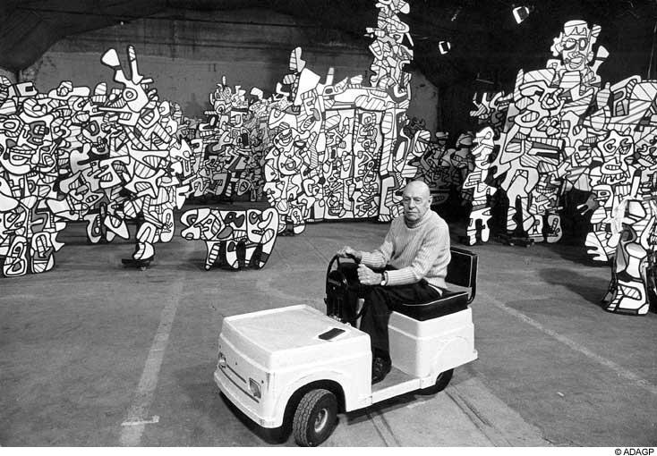 Jean Dubuffet  Save My Brain
