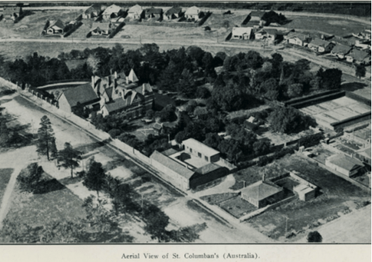 Aerial View of North Park