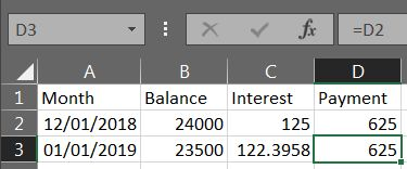 Excel Loan Payment 02