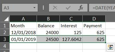 Excel Loan Payment 04