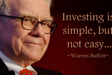 Investing is simple, but not easy