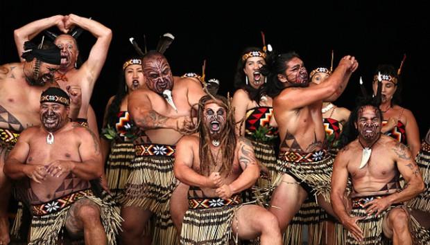 Maori tribe and haka dance - Save Our Green