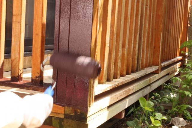 自分で木部を塗装する方法トップ
