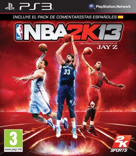 NBA 2K13 - Cover España