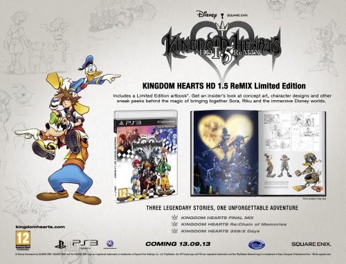 Kingdom Hearts HD ReMIX Limited Edition_PEGI