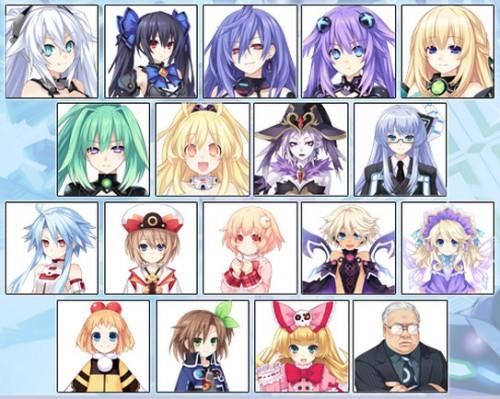 neptunia 18 avatares