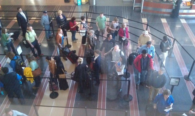 Sometimes a person with TSA precheck travels with a companion who doesn't have TSA Precheck. Should you wait for your friend?