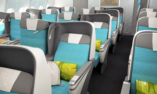 The new Air Tahiti Nui business class cabin should be ready by the time we fly