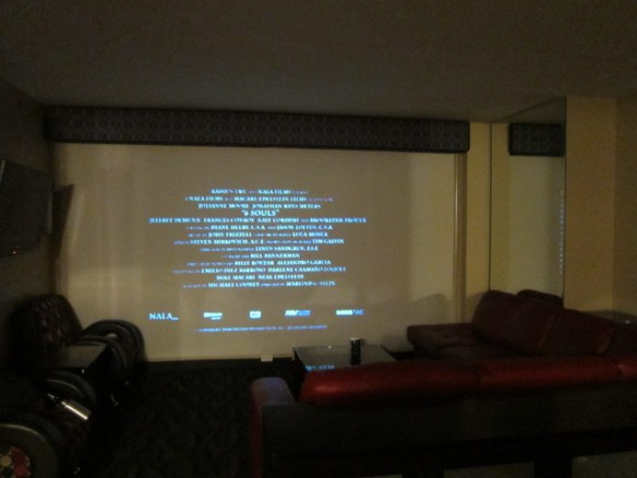 Projector screen!