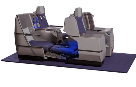 Brussels Airlines business class seats
