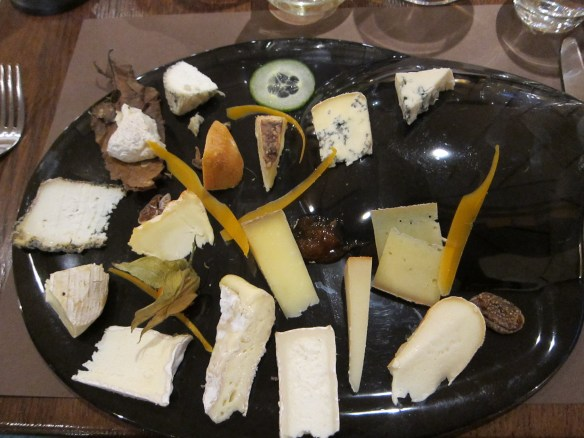 Jess was a huge fan of this cheese plate (La Cloche a Fromage, Strasbourg)