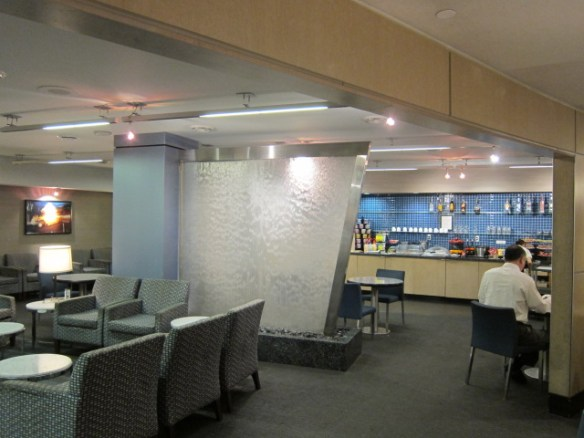 The Los Angeles International Lounge isn't anything special