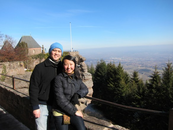 There's much more to Europe than the big cities (Mont Sainte-Odile)