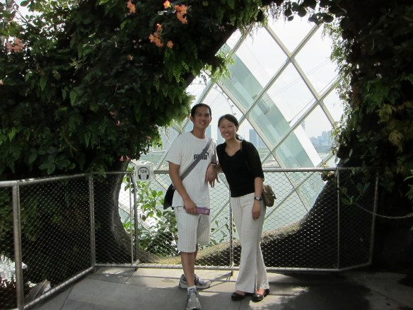 Singapore's Indoor Rainforest - you'll have to search segment by segment to get there in September on miles