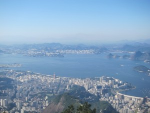 Lagoa from top of Corcovado