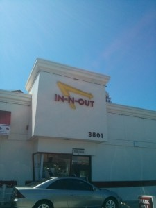 Our first stop