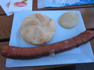 Kasekrainer, Vienna's version of a cheese dog