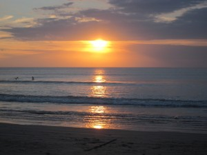 This view in Bali was the fruit of my first AOR