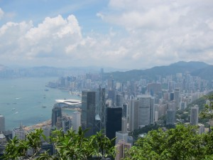 I try to avoid Asia in the summer - this picture doesn't indicate how ridiculously hot Hong Kong is