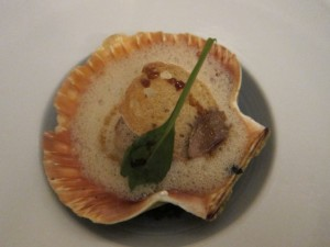 In shell scallop
