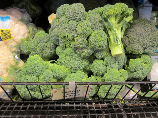 $4.05/pound for broccoli!