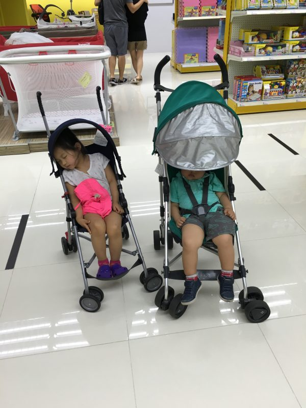 Every parent knows that sometimes you have to break parenting rules, especially on the road. Here are some of the rules we had to bend/break in Hong Kong.