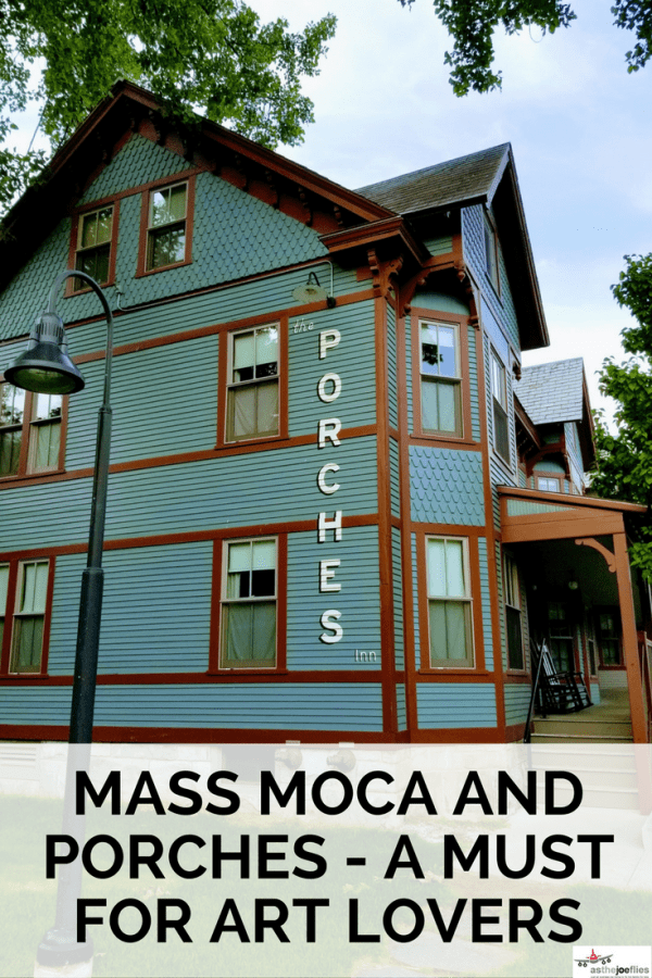 If you like modern art and quaint boutique hotels, consider checking out MASS MoCA and Porches. A hidden gem in North Adams, MA!