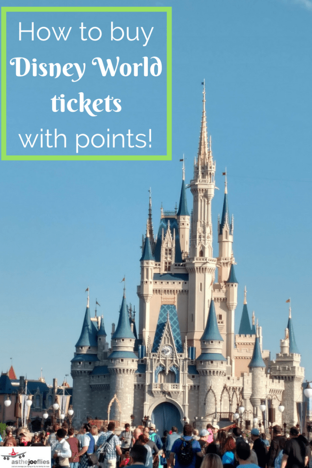 Did you know you can use Chase points to buy Disney World tickets? Instead of using cash, you can use your hard earned Ultimate Rewards points to save money on your Disney vacation!